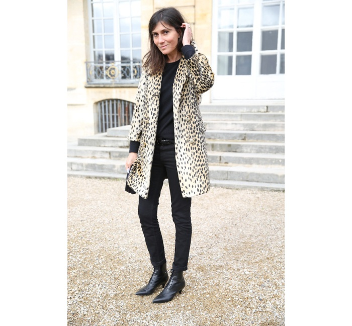 Emmanuelle Alt, editor-in-chief of Vogue Paris